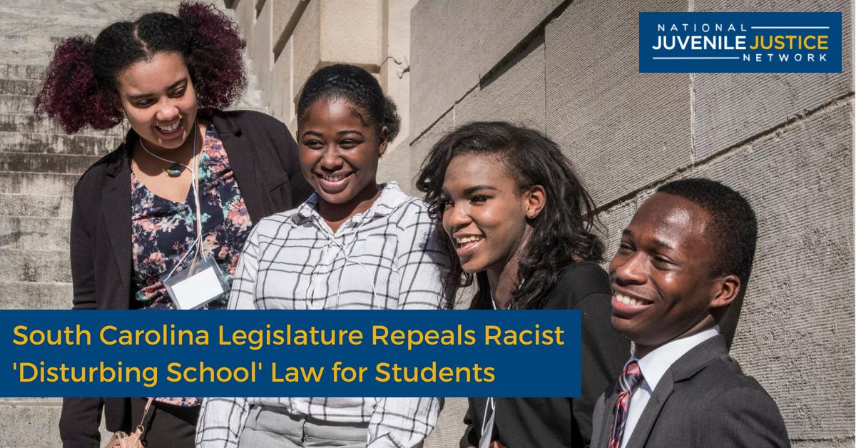 South Carolina Legislature Repeals Racist 'Disturbing School