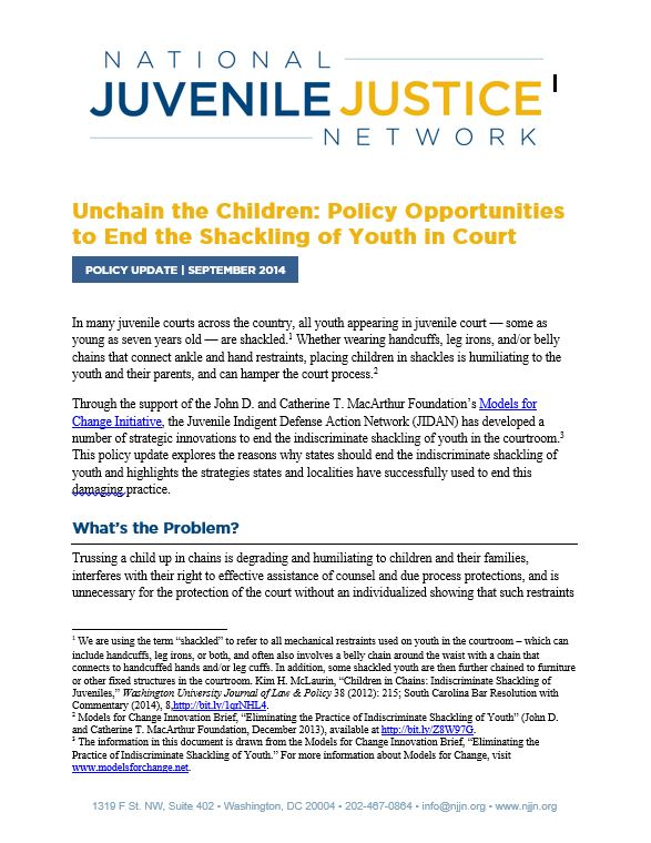 juvenile-justice-reform_shackling-brief-image